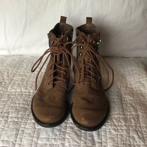 Sam Edelman Lace up Boots